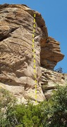 Rock Climbing Photo: Chicken Hawk