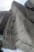 Rock Climbing Photo: I dug up this shot of the corner that is now The H...