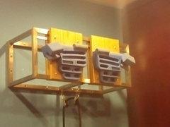 hangboard setup