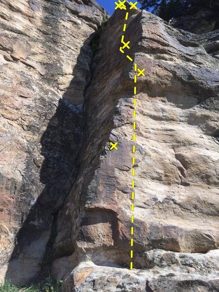 Rock Climbing Photo: Early start.