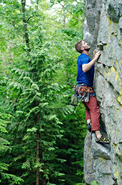Rock Climbing Photo: Jon Abbott on Solitary Confinement