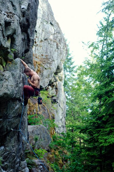 Rock Climbing Photo: Jon Abbott on Good Times