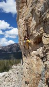 Rock Climbing Photo: Director Yellow Pants sending