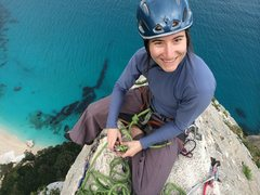 Rock Climbing Photo: Me in Sardinia