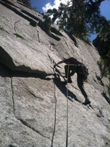 Rock Climbing Photo: Crack Attack!
