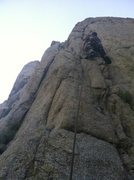 Rock Climbing Photo: This time....its personal
