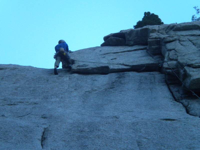 Rock Climbing Photo: Gettin in done across the positive undercling!