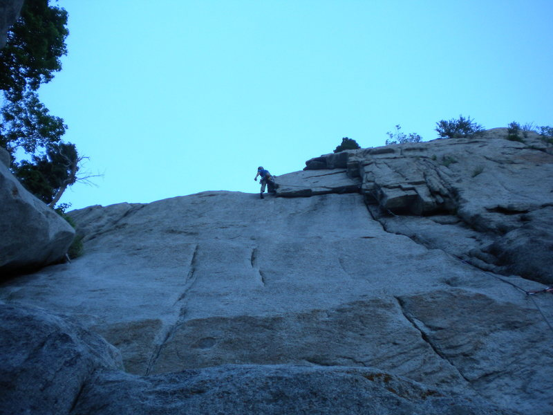 Great rest after the undercling traverse