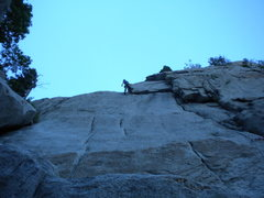 Rock Climbing Photo: Great rest after the undercling traverse