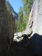 Rock Climbing Photo: Woodrow Call on LEFT, Augustus McCrae on RIGHT