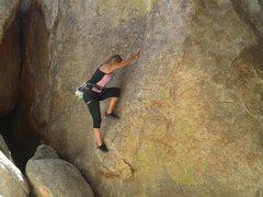 Rock Climbing Photo: Up and Away...