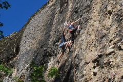 Rock Climbing Photo: These routes are so fun you'll want to high-five m...