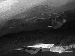 Rock Climbing Photo: Martini Roof Left - V10
