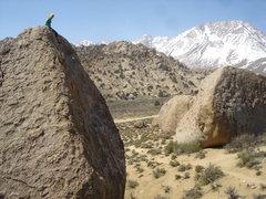 Rock Climbing Photo: Buttermilkin'