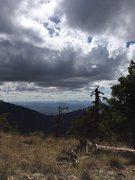 Rock Climbing Photo: Wrightson saddle