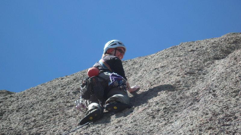 Rock Climbing Photo: Ain't Crack - Vee Da Voo
