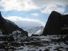 Rock Climbing Photo: Great views from the Serengeti towards Snowdon on ...