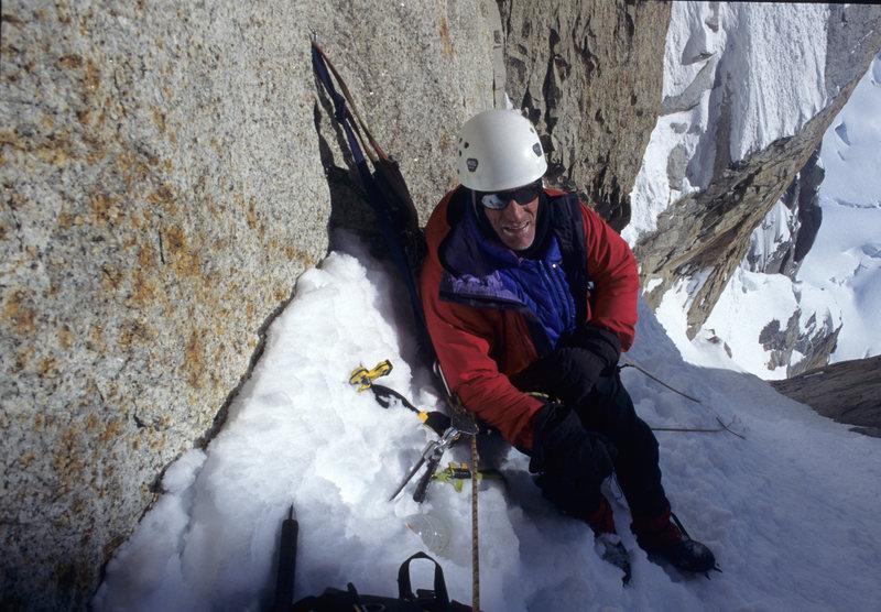 Rock Climbing Photo: Jim in Englishman's Col