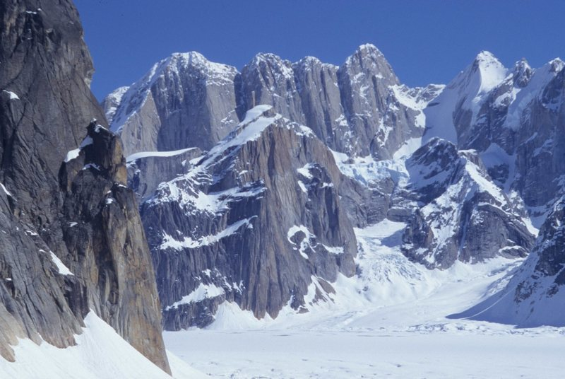 South Face of the Mooses Tooth