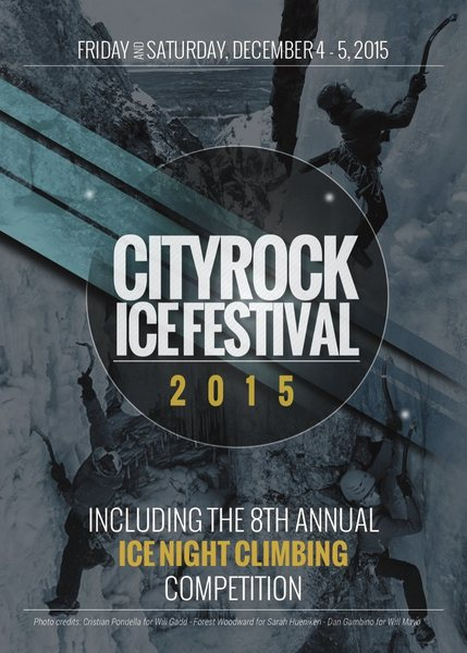 City Rock Ice Fest 2015 front