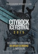 Rock Climbing Photo: City Rock Ice Fest 2015 front