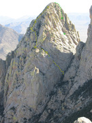 Rock Climbing Photo: View from the summit of Rabbit Ears Massif. Climb ...