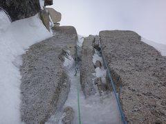 Rock Climbing Photo: Following the bibler exit. Took us 21 hrs to get f...