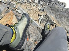 Rock Climbing Photo: On top of Buck, excellent ridge scramble up