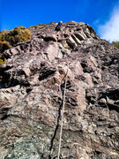 Rock Climbing Photo: Second pitch of Red Arete.
