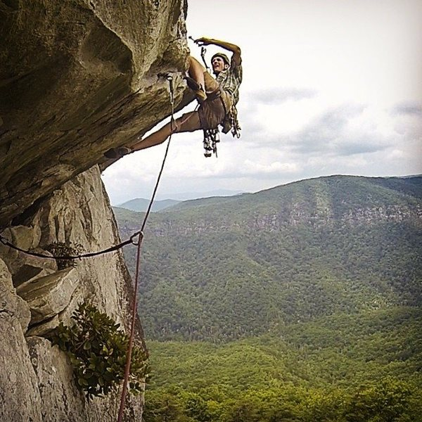 Rock Climbing Photo: Lost in Space, Linville Gorge