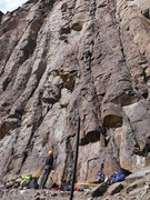 Rock Climbing Photo: Post Moderate