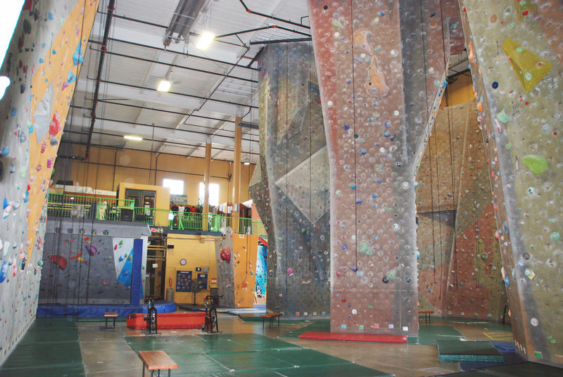 Rock Climbing Photo: Gym A Another angle