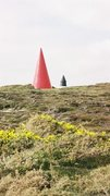 Rock Climbing Photo: Mysterious object near the Coastguard Station (pho...
