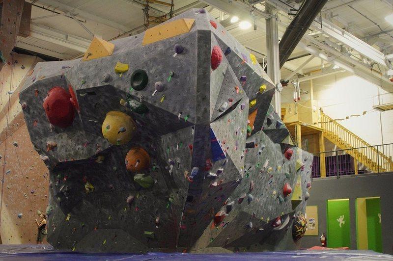 Gym B<br> the boulder monster