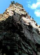 Rock Climbing Photo: Wind tower