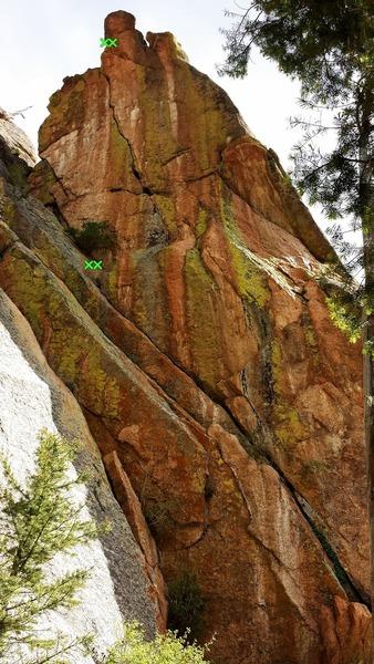 Rock Climbing Photo: Little Bo Peep Diploma.