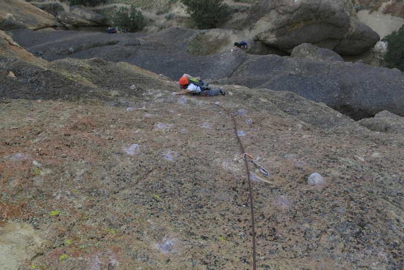 Rock Climbing Photo: Roaming on Wherever I May Roam