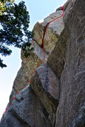 Rock Climbing Photo: A view from the side.