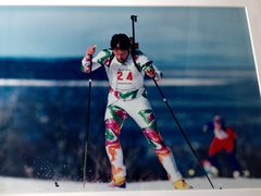Rock Climbing Photo: Biathlon