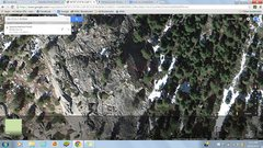 Rock Climbing Photo: Aerial.
