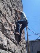 Rock Climbing Photo: Behind the cigar shop in Jackson.