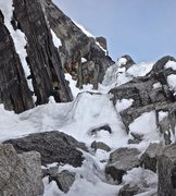 Rock Climbing Photo: steep ice