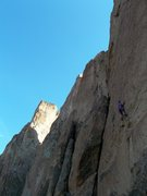 Rock Climbing Photo: First Ascent of Orion
