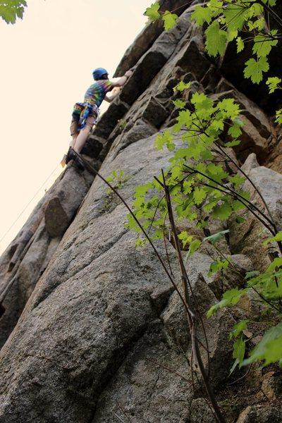 Rock Climbing Photo: Climbin' at Cascade Crag.