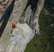 Rock Climbing Photo: Brad sending the immaculate 13th pitch. Ben Ditto ...