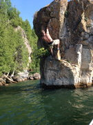 Rock Climbing Photo: Odd Positions