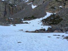 Rock Climbing Photo: Base of the Petit Grepon, 06/20/15.