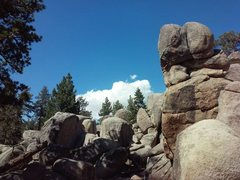 Rock Climbing Photo: Voodoo Garden Area, Holcomb Valley Pinnacles