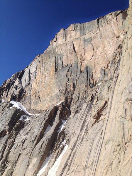 Rock Climbing Photo: Diamante.