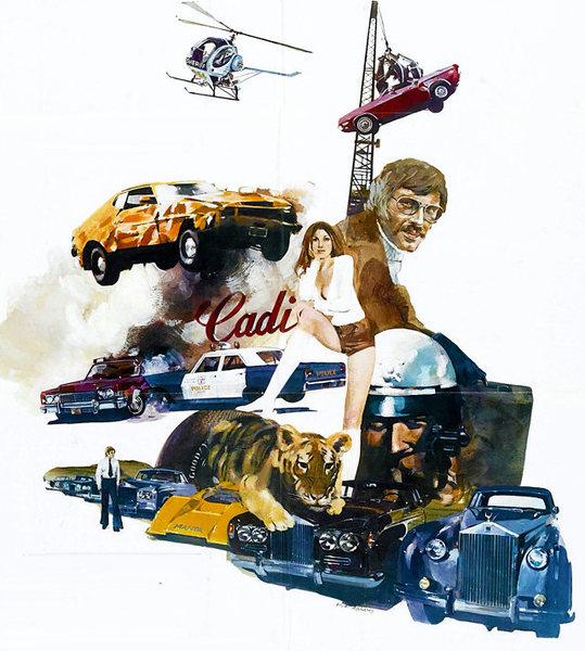 <em>Gone in 60 Seconds</em> (1974) movie poster